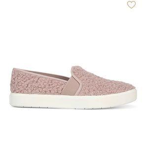 Vince Shearling Blair Sneaker esme Blush pink